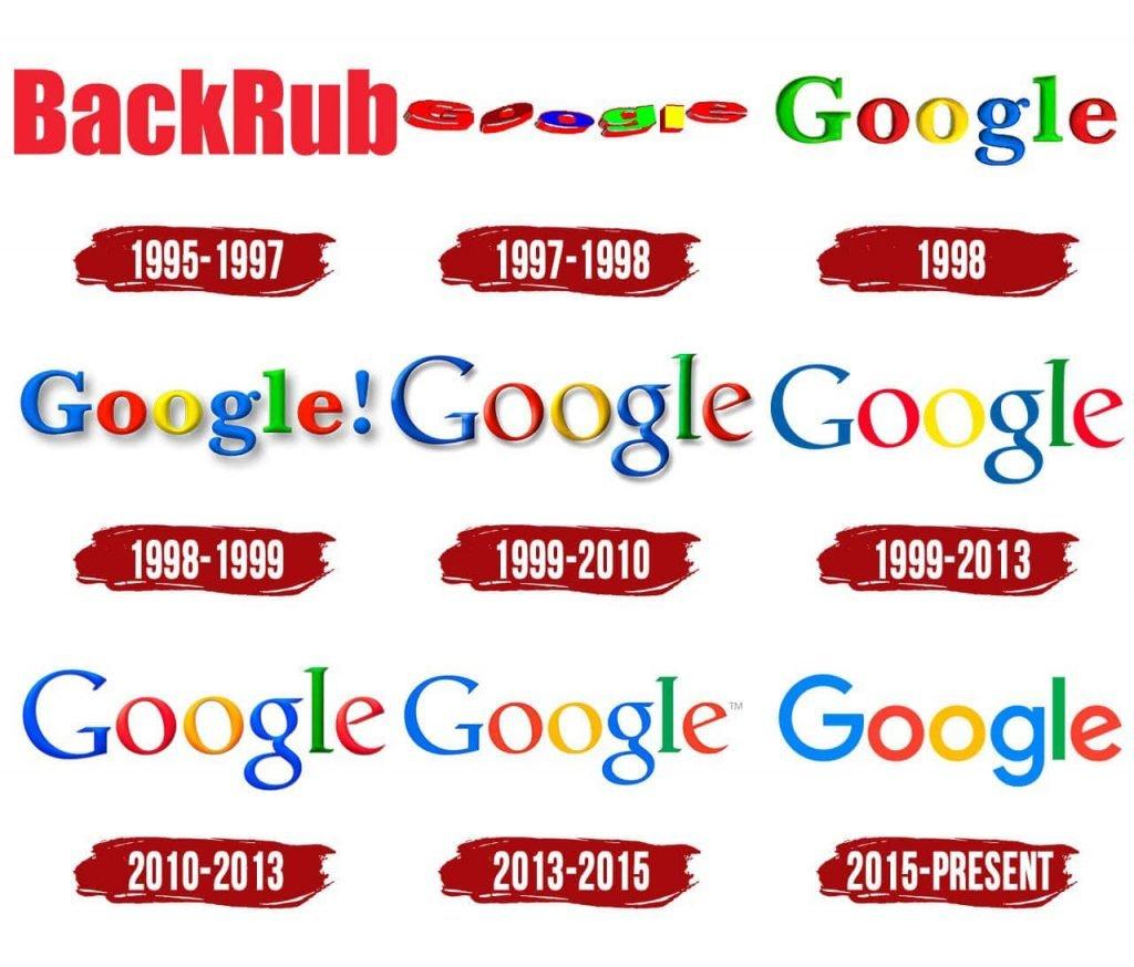 google branding history